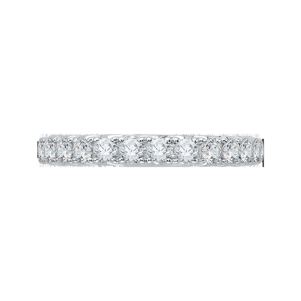 Channel Set Diamond Wedding Band CARIZZA CA0070B-37W