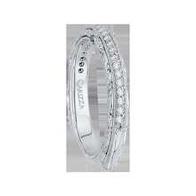 Load image into Gallery viewer, Euro Shank Diamond Engagement Ring CARIZZA CA0072EH-37W