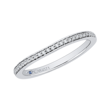 Load image into Gallery viewer, Diamond Half-Eternity Wedding Band CARIZZA CA0082B-37W-1.50