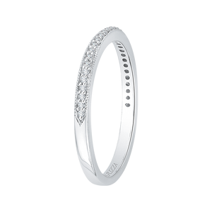 Diamond Half-Eternity Wedding Band CARIZZA CA0082B-37W-1.50
