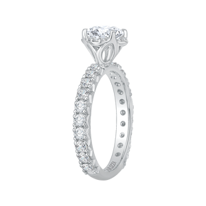 Round Diamond Engagement Ring CARIZZA CA0097E-37W