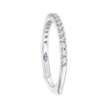 Load image into Gallery viewer, Euro Shank Diamond Wedding Band CARIZZA CA0101B-37W