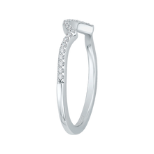 Load image into Gallery viewer, Split Shank Diamond Wedding Band CARIZZA CA0110B-37W-1.00