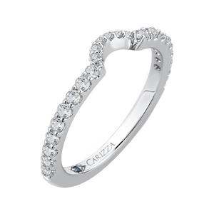 Signature Diamond Wedding Band CARIZZA CA0115B-37W