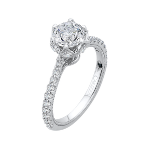 Cathedral Style Engagement Ring CARIZZA CA0120E-37W