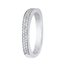Load image into Gallery viewer, Two Row Diamond Basket Wedding Band CARIZZA CA0133BQ-37W-1.50
