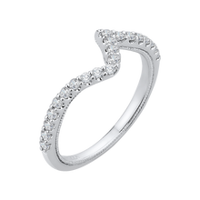 Load image into Gallery viewer, Tristone Diamond Wedding Band CARIZZA CA0137BH-37W