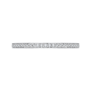 Diamond Basket Wedding Band CARIZZA CA0140BH-37W