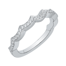 Load image into Gallery viewer, Infinity Winding Diamond Wedding Band CARIZZA CA0143BQ-37W