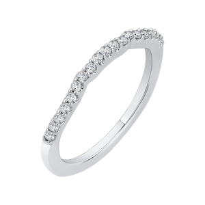 Diamond Wedding Band CARIZZA CA0146B-37W
