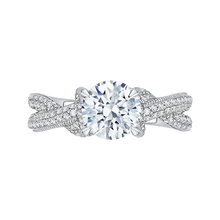 Load image into Gallery viewer, Forever Twisting Diamond Engagement Ring CARIZZA CA0151EQ-37W-1.50