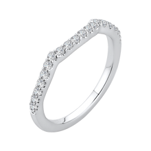 Load image into Gallery viewer, Vine Diamond Wedding Band CARIZZA CA0154BH-37W
