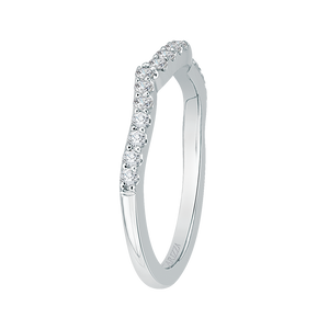 Vine Diamond Wedding Band CARIZZA CA0154BH-37W