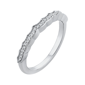 Winding Diamond Wedding Band CARIZZA CA0158BH-37W-1.50