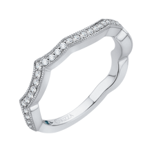Load image into Gallery viewer, Four Points Diamond Wedding Band CARIZZA CA0160BQ-37W