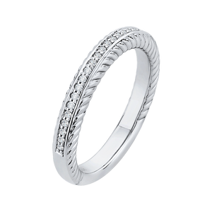Channel Set Diamond Wedding Band CARIZZA CA0166BH-37W-1.50