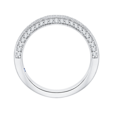 Load image into Gallery viewer, Diamond Studded Wedding Band CARIZZA CA0168BH-37W-1.50