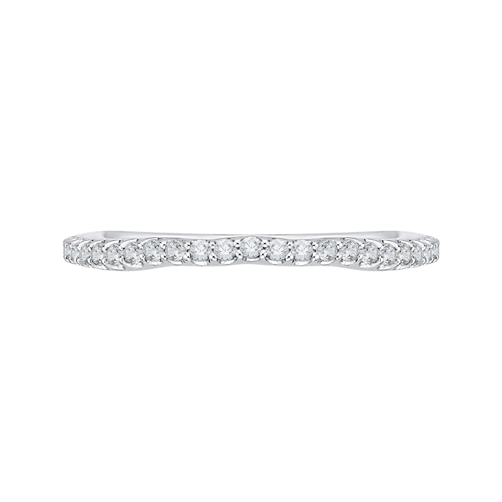 Channel Set Diamond Wedding Band CARIZZA CA0169BH-37W