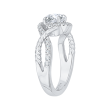 Load image into Gallery viewer, Semi - Diamond Diamond Engagement Ring CARIZZA CA0171EH-37W