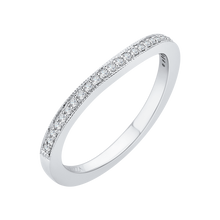 Load image into Gallery viewer, Diamond Wedding Band CARIZZA CA0174BH-37W