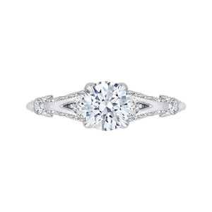 Diamond Vintage Engagement Ring CARIZZA CA0176EH-37W