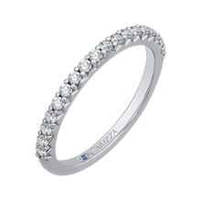 Load image into Gallery viewer, Round Diamond Wedding Band CARIZZA CA0208B-37W-1.50