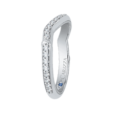 Load image into Gallery viewer, Round Diamond Wedding Band CARIZZA CA0215B-37W-1.50