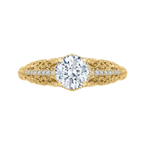 Round Diamond Engagement Ring CARIZZA CA0219E-37