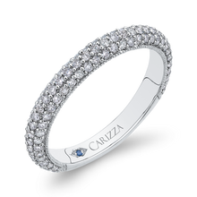 Load image into Gallery viewer, Round Diamond Wedding Band CARIZZA CA0227BQ-37W-1.50