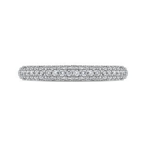 Round Diamond Wedding Band CARIZZA CA0227BQ-37W-1.50