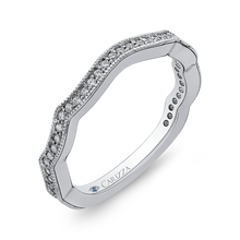 Load image into Gallery viewer, Curving Diamond Wedding Band CARIZZA CA0228BQ-37W