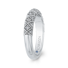 Load image into Gallery viewer, Cathedral Style Diamond Wedding Band CARIZZA CA0241BH-37W-1.50
