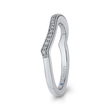 Load image into Gallery viewer, Curving Diamond Wedding Band CARIZZA CA0242BH-37W-1.00