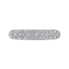 Load image into Gallery viewer, Braided Diamond Wedding Band CARIZZA CA0255BH-37W-1.00