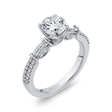 Load image into Gallery viewer, Signature Round Diamond Engagement Ring CARIZZA CA0256EH-37W-1.00