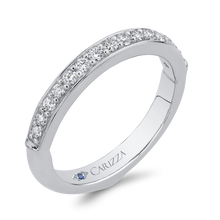 Load image into Gallery viewer, Half-Eternity Diamond Wedding Band CARIZZA CA0283BH-37W-1.50