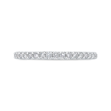 Load image into Gallery viewer, Round Half-Eternity Diamond Wedding Band CARIZZA CA0404BH-37W-1.00