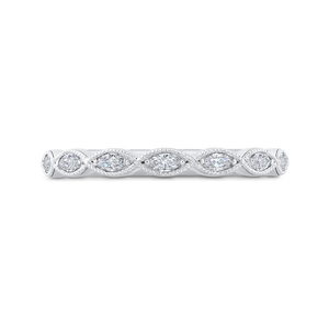 Marquise Diamond Wedding Band CARIZZA CA0407B-37W-1.50