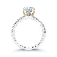 Load image into Gallery viewer, Semi-Mount Round Diamond Engagement Ring CARIZZA CA0409EH-37WY-1.50