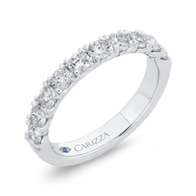 Load image into Gallery viewer, Diamond Studded Wedding Band CARIZZA CA0420BH-42W-1.00