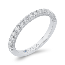 Load image into Gallery viewer, Round Diamond Wedding Band CARIZZA CA0433BH-37W-1.00