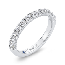 Load image into Gallery viewer, Diamond Wedding Band CARIZZA CA0436BH-37W-1.00