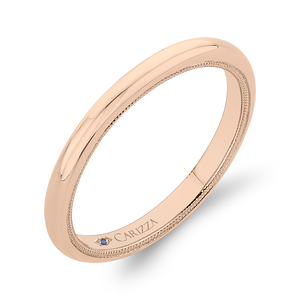 Plain Wedding Band CARIZZA CA0442B-P-1.00