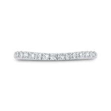 Load image into Gallery viewer, Half Run Diamond Wedding Band CARIZZA CA0460BH-37W-1.00