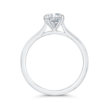 Load image into Gallery viewer, Plain Shank Solitaire Engagement Ring CARIZZA CA0494E-W-1.00