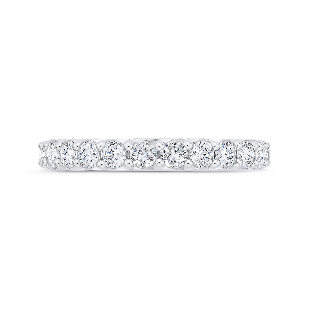Half Eternity Diamond Wedding Band CARIZZA CA0524BQ-37W-1.50