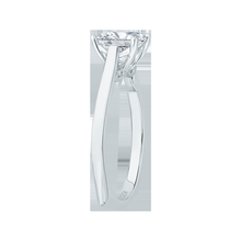 Load image into Gallery viewer, Emerald Cut Diamond Solitaire Engagement Ring CARIZZA CAE0038E-W