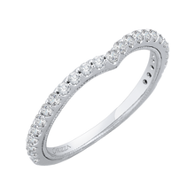 Load image into Gallery viewer, Micropave Diamond Wedding Band CARIZZA CAO0126BQ-37W-1.50