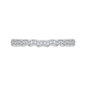 Diamond Carizza Wedding band - CARIZZA CAO0189BH-37W-1.50