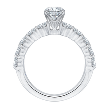 Load image into Gallery viewer, Oval Diamond Engagement Ring (Semi-Mount) CARIZZA CAO0189EH-37W-1.50